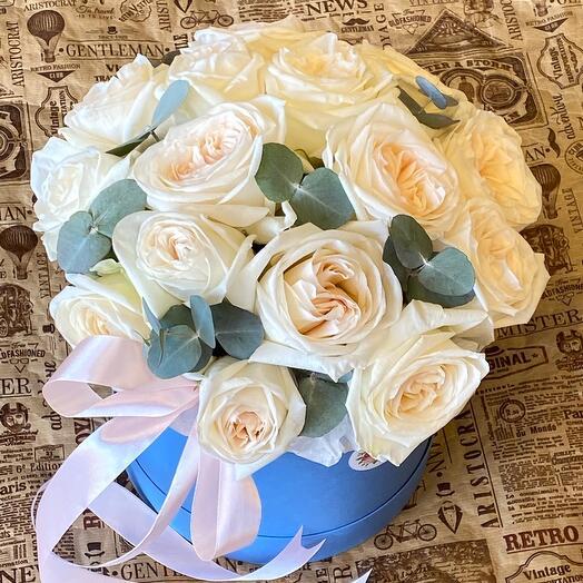 Ароматная пионовидная Роза ОХара