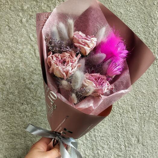Сухо 💓с розой