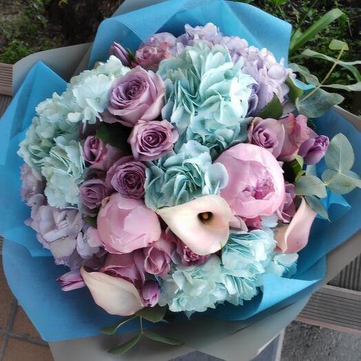 Букет цветов Серая Слива