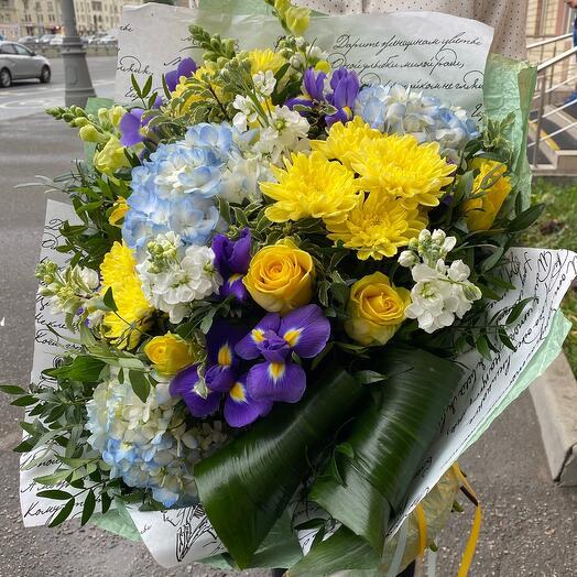 Букет цветов « Солнечные блики»