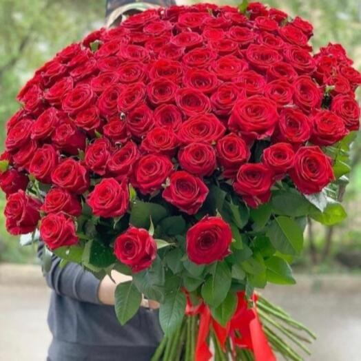 101 Голандская роза 😍 70 см