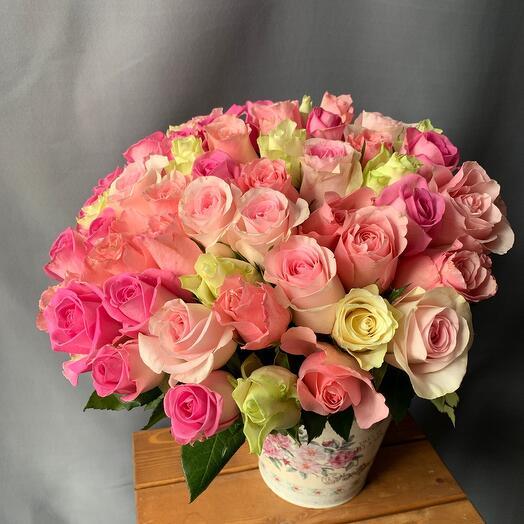 Акция!!!51 роза