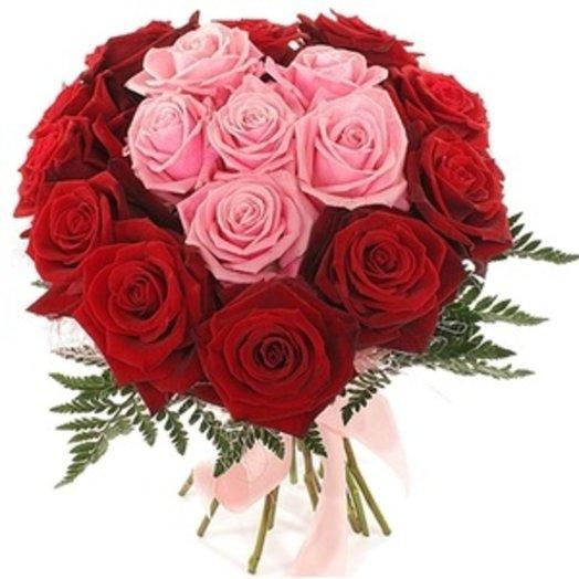 Нежный плюс: букеты цветов на заказ Flowwow