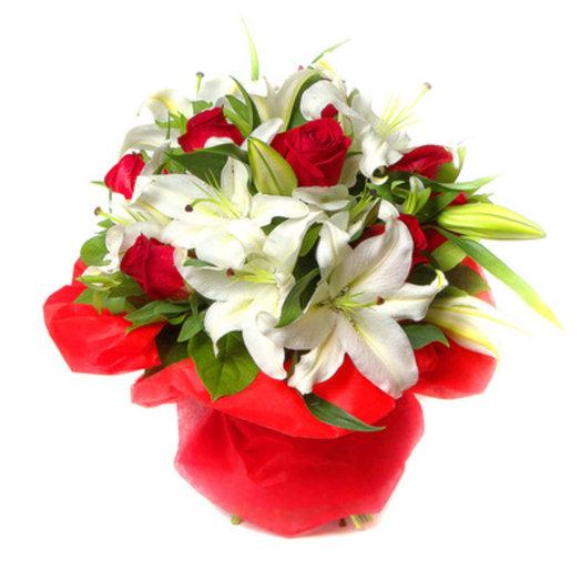 Дуэт: букеты цветов на заказ Flowwow