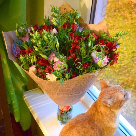 Яркое чудо: букеты цветов на заказ Flowwow