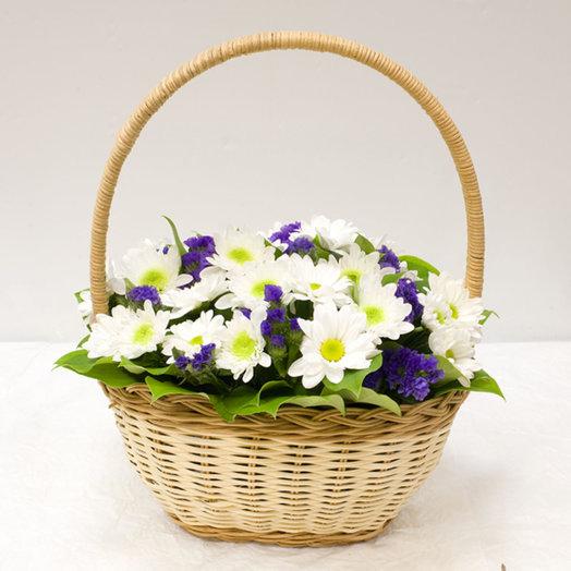 Корзинка цветов Тихий океан: букеты цветов на заказ Flowwow
