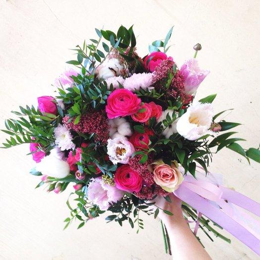 Букет Нежные обьятия: букеты цветов на заказ Flowwow