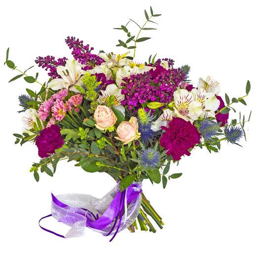 Темный фиолет: букеты цветов на заказ Flowwow