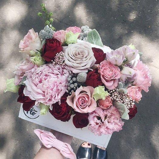 Box 8: букеты цветов на заказ Flowwow
