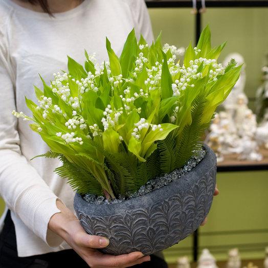 Композиция из ландышей Arome: букеты цветов на заказ Flowwow