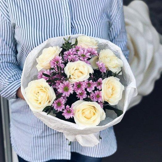 Для самой Милой : букеты цветов на заказ Flowwow