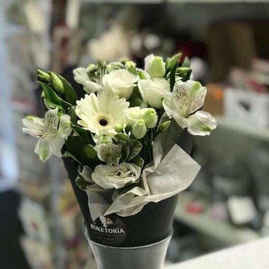 """Конус """"Свежесть"""": букеты цветов на заказ Flowwow"""