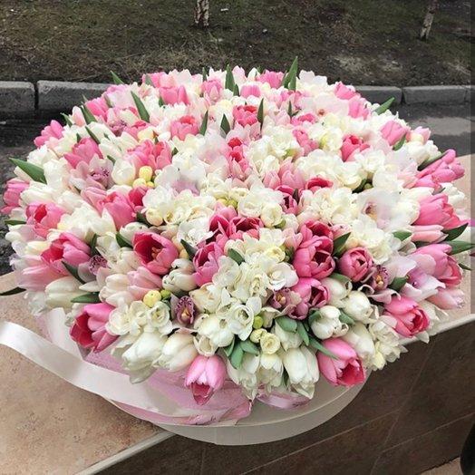 Прелесть Франции: букеты цветов на заказ Flowwow
