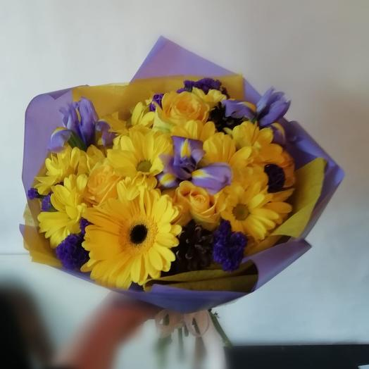 Осеннее солнышко: букеты цветов на заказ Flowwow