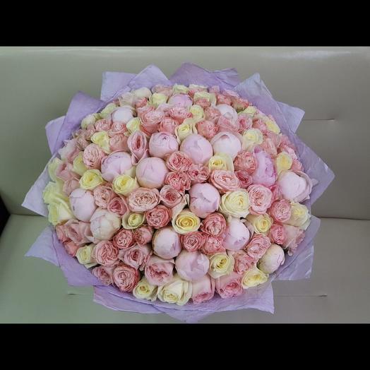 Роскошь»: букеты цветов на заказ Flowwow