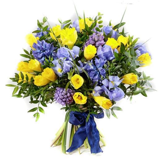 "Букет ""Весенний"": букеты цветов на заказ Flowwow"