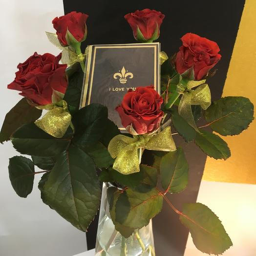 Red Torro: букеты цветов на заказ Flowwow