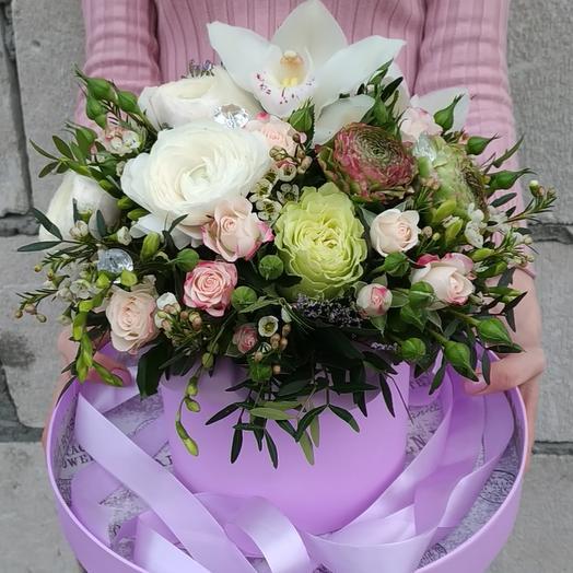 Невероятный аквариум с цветами😍: букеты цветов на заказ Flowwow
