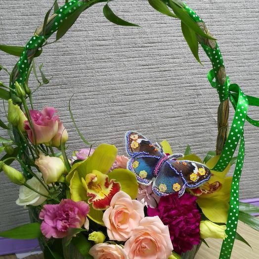 Бабочка: букеты цветов на заказ Flowwow