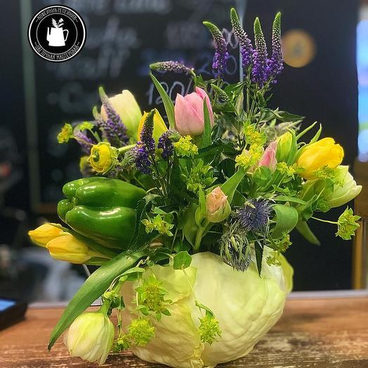 Капусточка: букеты цветов на заказ Flowwow