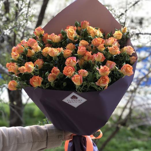 Букет из 11 веток роз: букеты цветов на заказ Flowwow