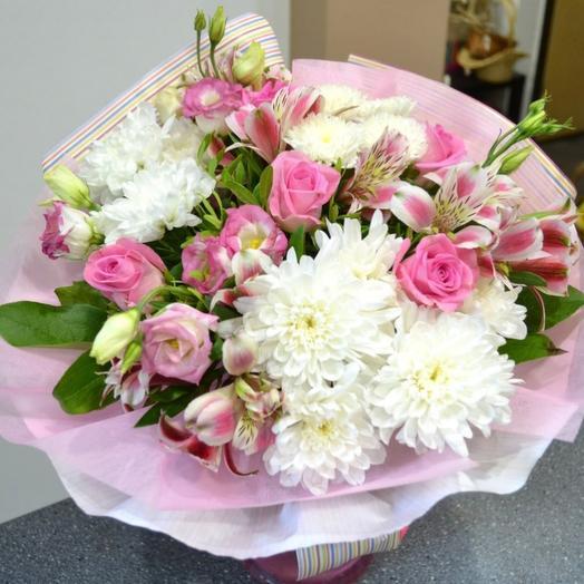 Комплимент в крафте 5: букеты цветов на заказ Flowwow