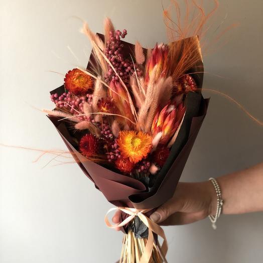 Огненный букет: букеты цветов на заказ Flowwow