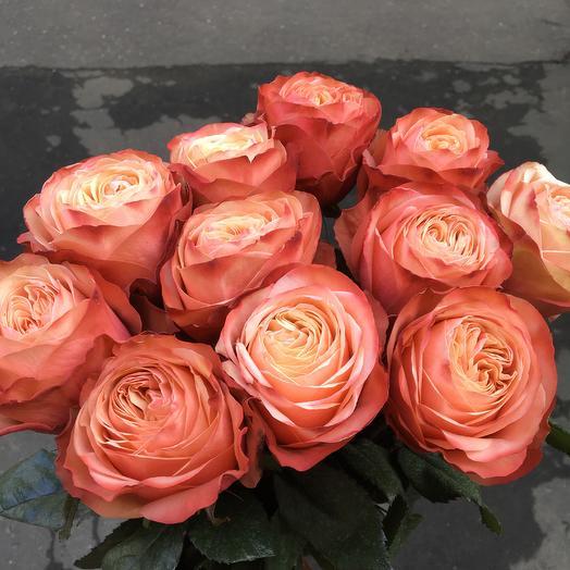 11 роз с пионовидным раскрытием: букеты цветов на заказ Flowwow