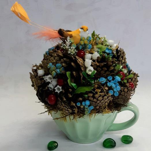"""Композиция из серии""""Сказки леса"""": букеты цветов на заказ Flowwow"""