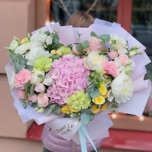 Гигант нежности: букеты цветов на заказ Flowwow