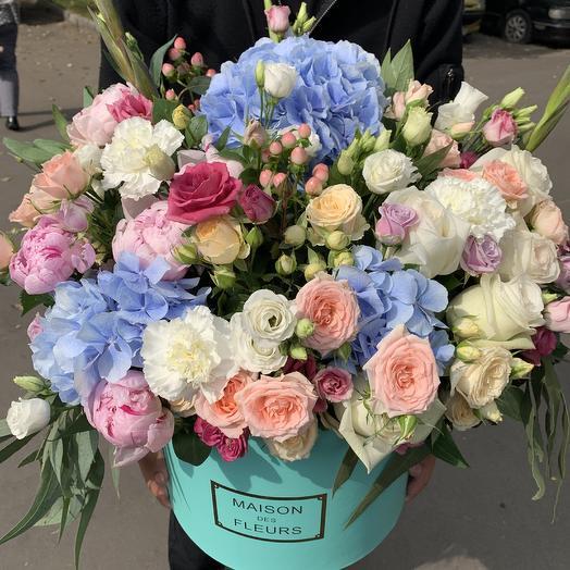 Премиум коробка xxl: букеты цветов на заказ Flowwow