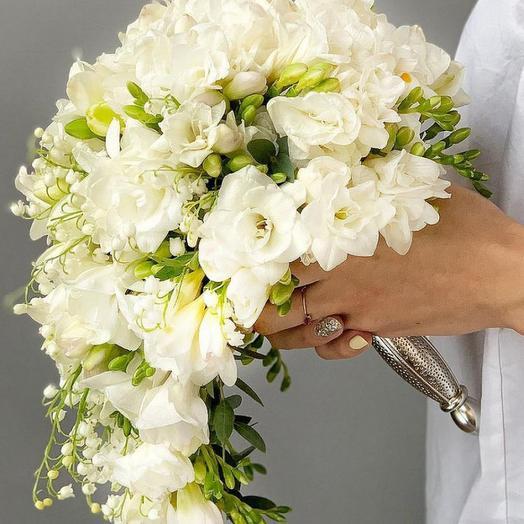 """Букет невесты """"Каскад"""": букеты цветов на заказ Flowwow"""
