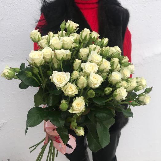 """Кустовые розы """"Цветочное кружево"""""""