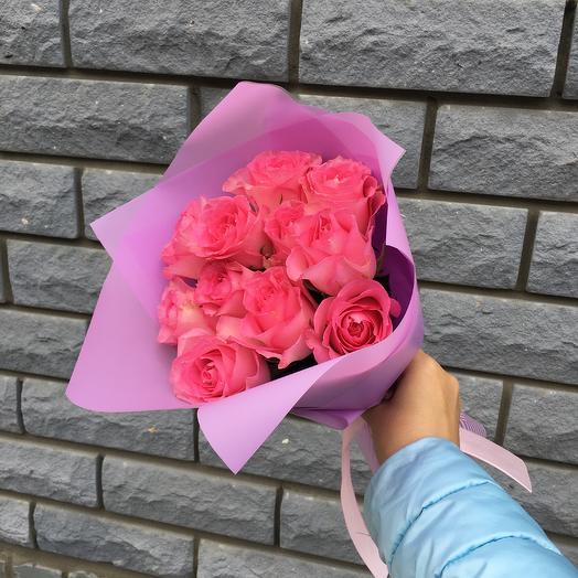 11 роз: букеты цветов на заказ Flowwow