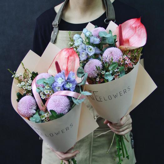 Утренняя дымка: букеты цветов на заказ Flowwow