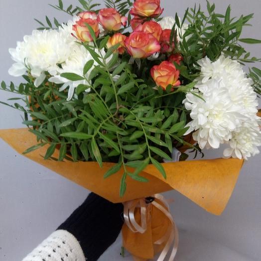 Оранжевый букет: букеты цветов на заказ Flowwow