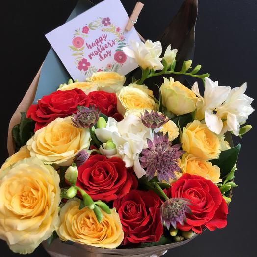 Букет день матери: букеты цветов на заказ Flowwow