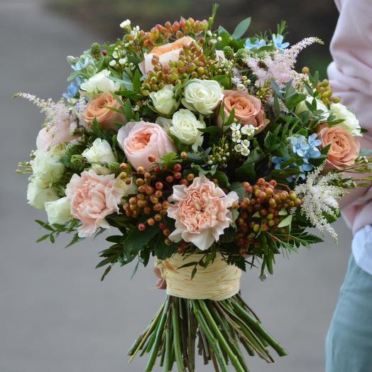 "Букет цветов ""Мастерская чудес"": букеты цветов на заказ Flowwow"