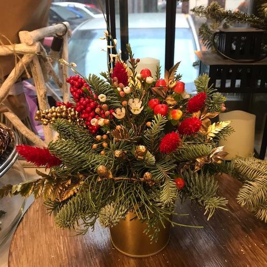 Рождественский комплимент: букеты цветов на заказ Flowwow