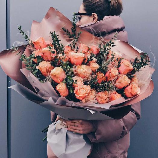 Таинственная роза: букеты цветов на заказ Flowwow