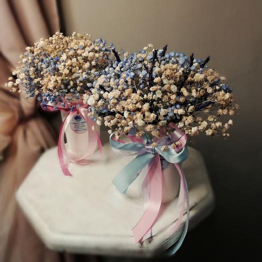 Стаканчик гипсофилы: букеты цветов на заказ Flowwow
