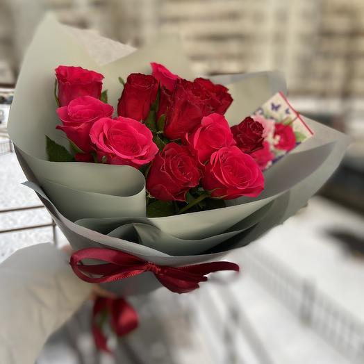 Классический букет из роз 🌹