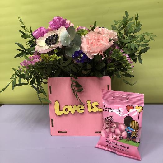 Это любовь, детка: букеты цветов на заказ Flowwow