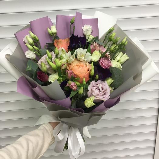 Букет «Черничный»: букеты цветов на заказ Flowwow