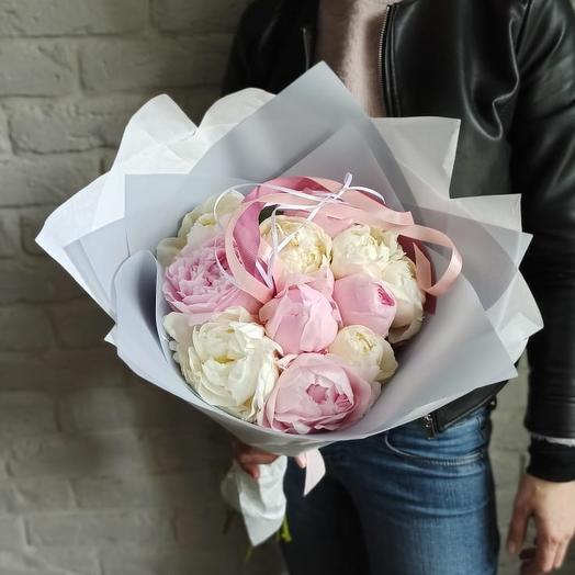 "Букет ""Пиономания"": букеты цветов на заказ Flowwow"