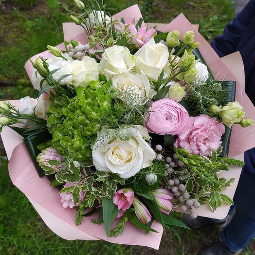 Секрет очарования: букеты цветов на заказ Flowwow