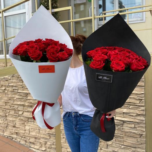 Букеты роз по акции
