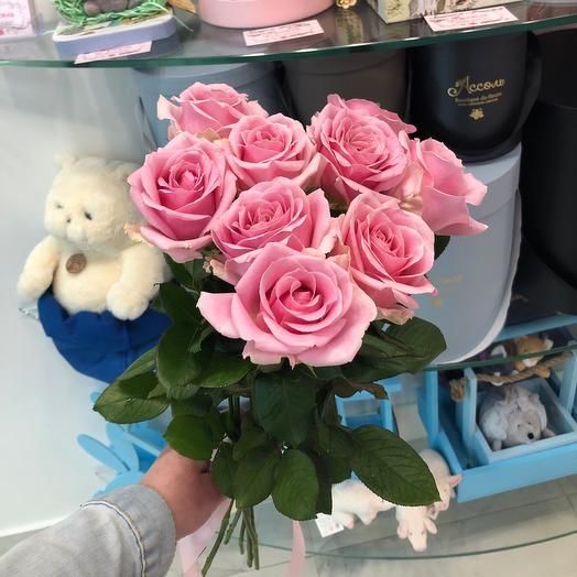 9 роз