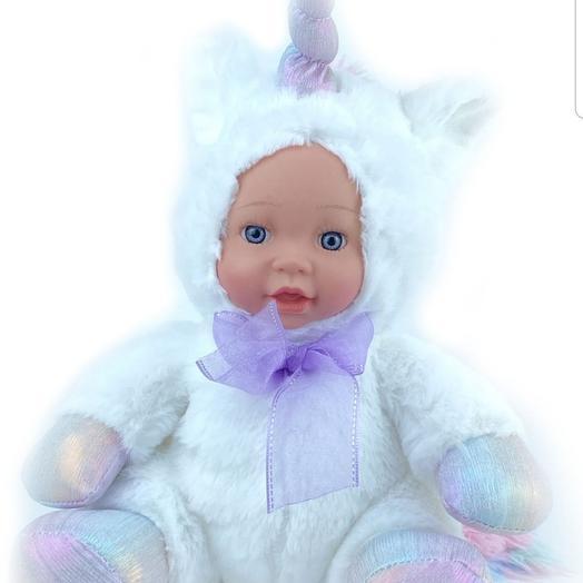 Кукла мягкая 30 см