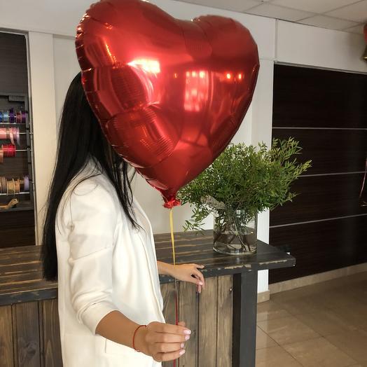 1 Фольгированное Сердце